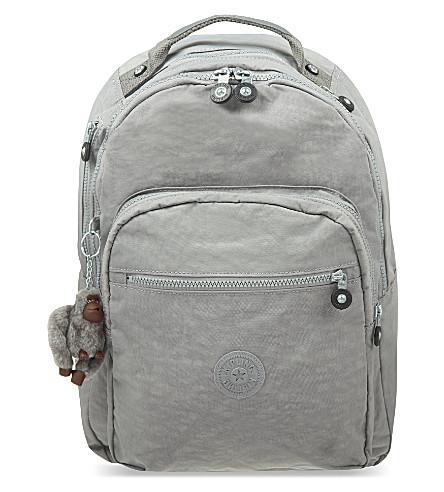 KIPLING Clas Seoul nylon backpack (Cool grey c