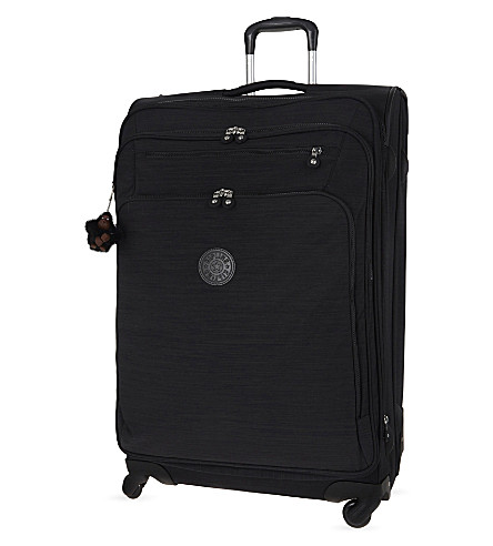 KIPLING Youri four-wheel spinner suitcase 78cm (Dazz+black