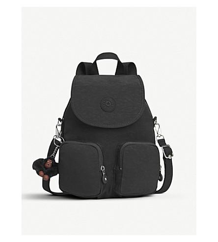 KIPLING Firefly Up convertible medium shell backpack (True+black