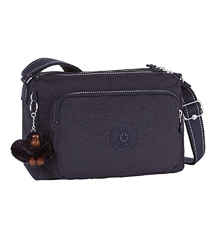 KIPLING Reth medium shoulder bag (Blue+purple+c