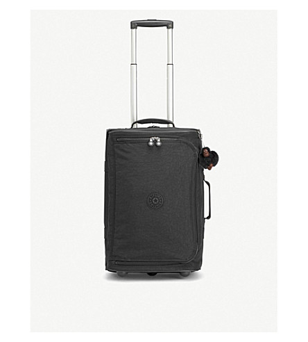 KIPLING Teagan S wheeled nylon suitcase 54cm (True+black