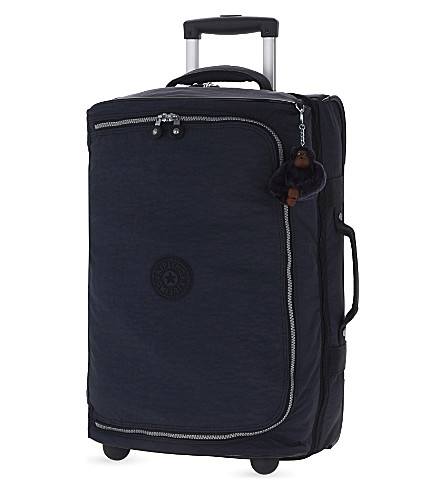 KIPLING Teagan two-wheel cabin suitcase 54cm (Alaskan+blue