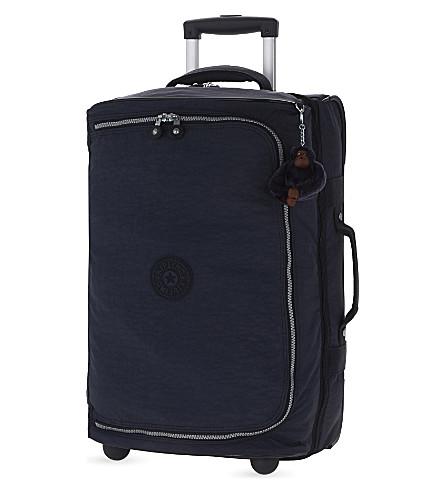 KIPLING Teagan two-wheel cabin suitcase 54cm (Alaskan+blue