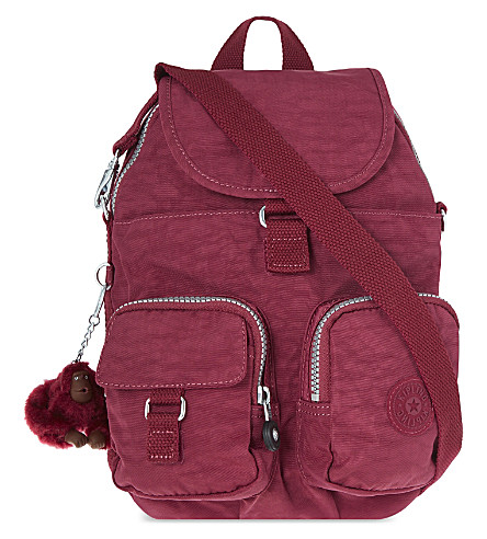 KIPLING Firefly mini backpack (Berry