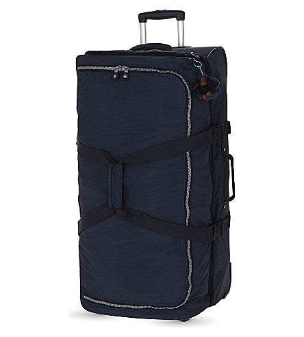 KIPLING Teagan large two-wheel suitcase 77cm (Alaskan+blue