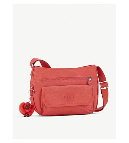 KIPLING Syro nylon crossbody bag (Galaxy+orange
