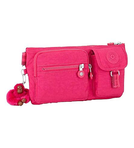 KIPLING Presto waist bag (Cherry+pink+c
