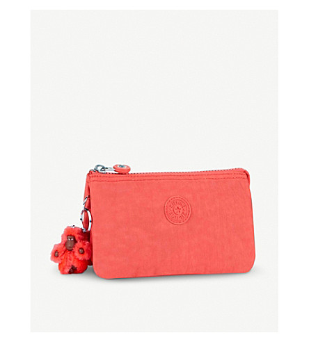 KIPLING Creativity large purse (Galaxy+orange