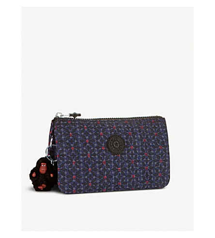 KIPLING Creativity floral large purse (Falling+star