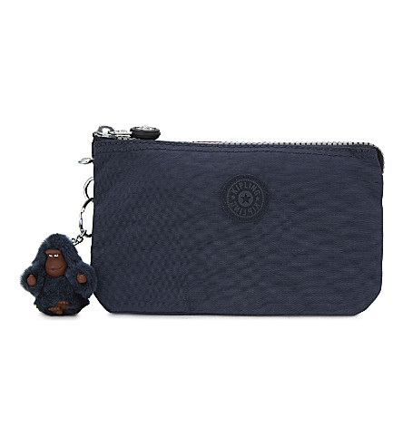 KIPLING Creativity large purse (Alaskan+blue