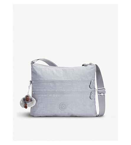 KIPLING Alvar nylon shoulder bag (Clouded+sky