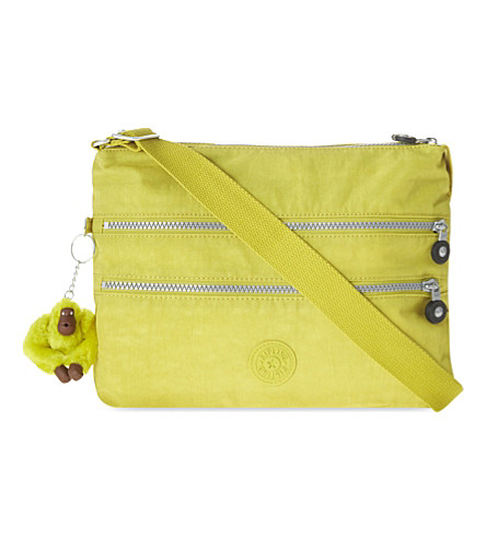 KIPLING Alvar shoulder bag (Mustard+yellow