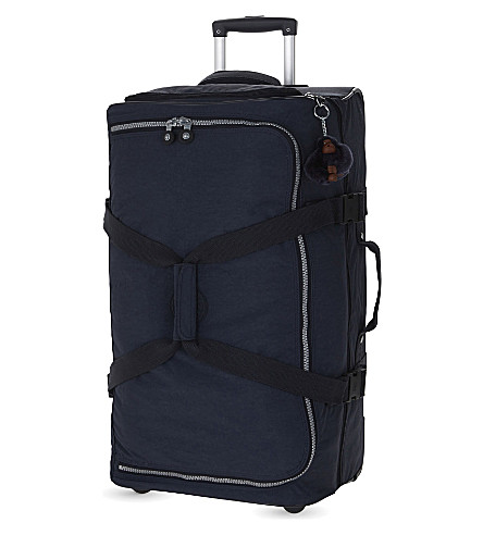 KIPLING Teagan medium two-wheel suitcase 66cm (Alaskan+blue