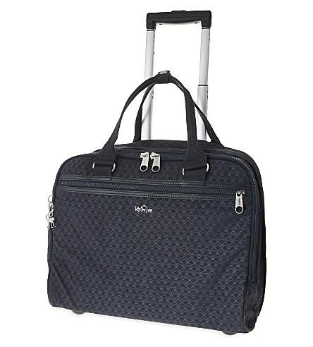 KIPLING New Ceroc two-wheeled work bag 36cm (True+blue+emb