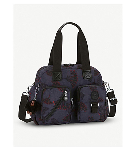 KIPLING Defea nylon shoulder bag (Floral+night