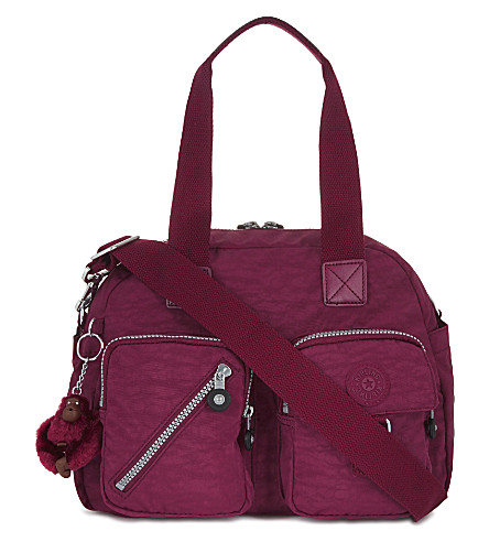 KIPLING Defea shoulder bag (Berry