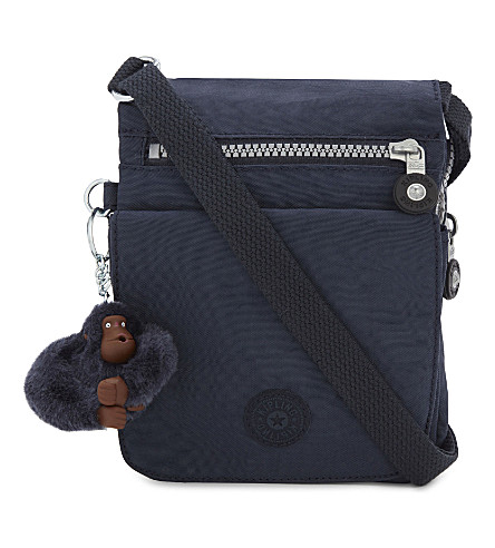 KIPLING Eldorado zipped woven cross-body bag (Alaskan+blue