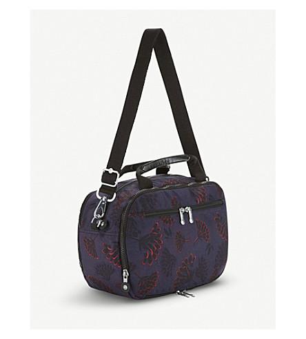 KIPLING Palmbeach floral-printed nylon beauty bag (Floral+night