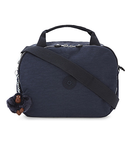 KIPLING Palm Beach nylon beauty case (Alaskan+blue