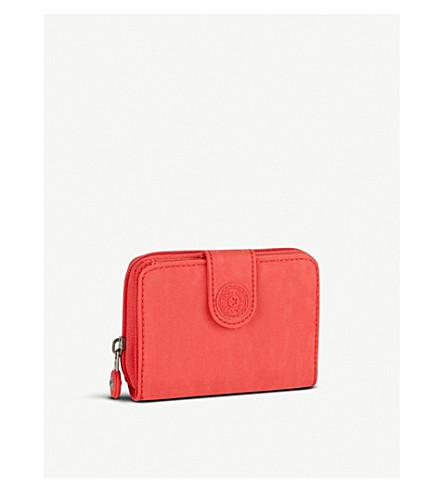 KIPLING New Money medium wallet (Galaxy+orange