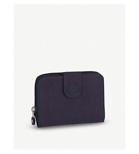 KIPLING New Money medium wallet (Blue+purple+c