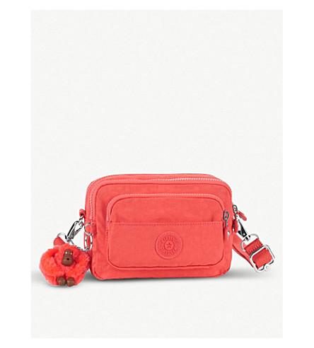 KIPLING Multiple nylon bum bag/shoulder bag (Galaxy+orange