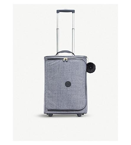 KIPLING Teagan XS wheeled nylon suitcase 50.5cm (Cotton+jeans