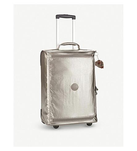 KIPLING Teagan XS suitcase 50.5cm (Metallic+pewter