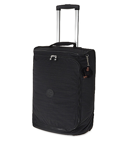 KIPLING Teagan two-wheel cabin suitcase 50cm (Dazz+black