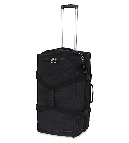 KIPLING Teagan two-wheel trolley suitcase 66cm (Dazz+black