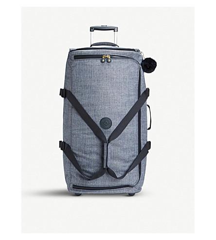 KIPLING Teagan L wheeled nylon duffle bag 77cm (Cotton+jeans