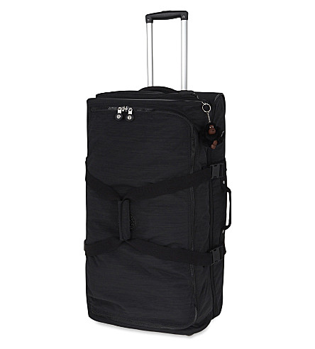 KIPLING Teagan two-wheel trolley suitcase 77cm (Dazz+black