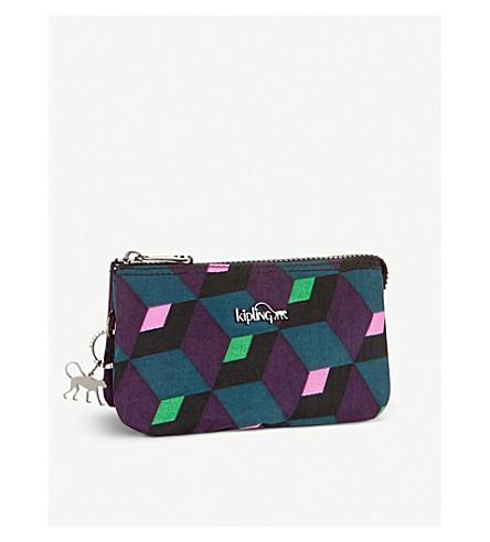 KIPLING Creativity geometric large purse (Bold+mirage