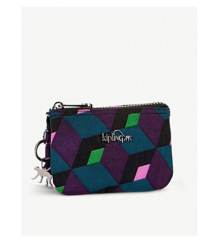 KIPLING Creativity geometric small purse (Bold+mirage