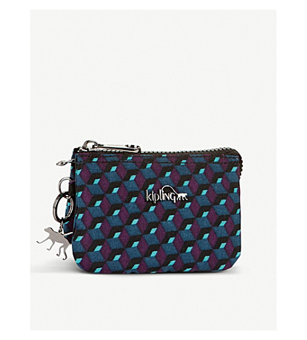 KIPLING Creativity geometric small purse (Mirage+print