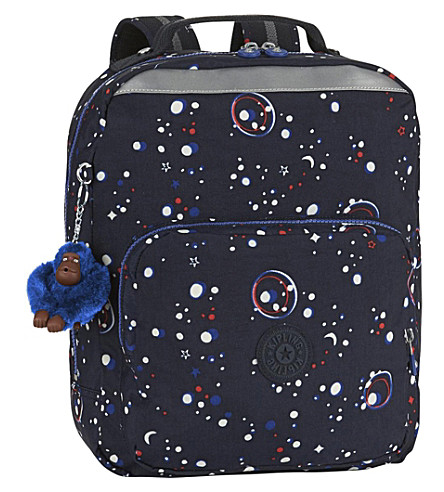 KIPLING Ava nylon backpack (Galaxy+party