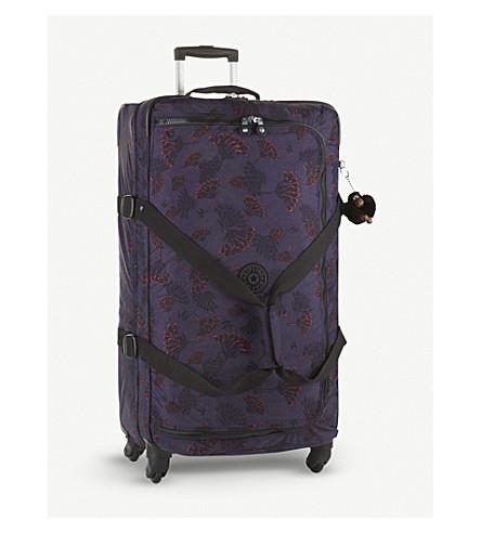 KIPLING Cyrah L four-wheel suitcase 79cm (Floral+night