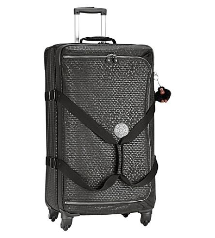 KIPLING Cyrah spinner suitcase 79cm (Black+scale+emb