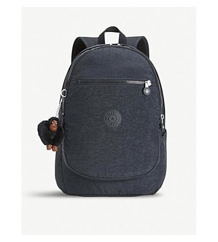 KIPLING Clas Challenger medium nylon backpack (True+navy