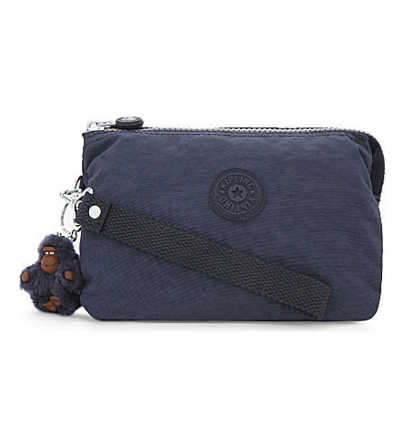 KIPLING Creativity extra large nylon purse (Alaskan+blue