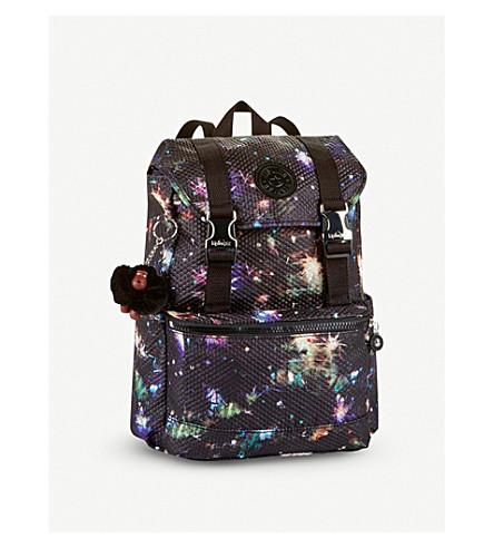 KIPLING Experience small nylon backpack (Winter+firework