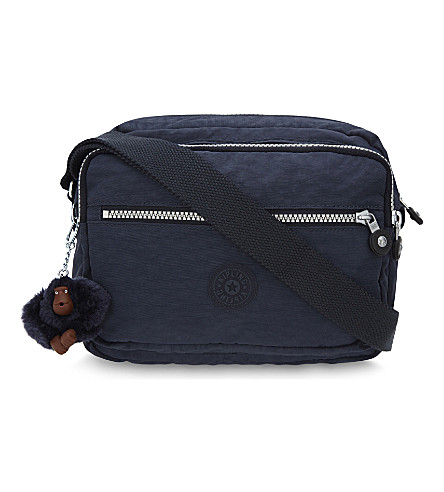 KIPLING Deena zipped shoulder bag (Alaskan+blue