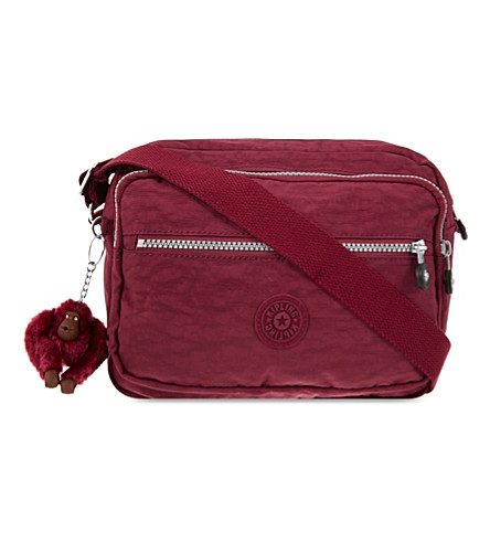 KIPLING Deena zipped shoulder bag (Berry