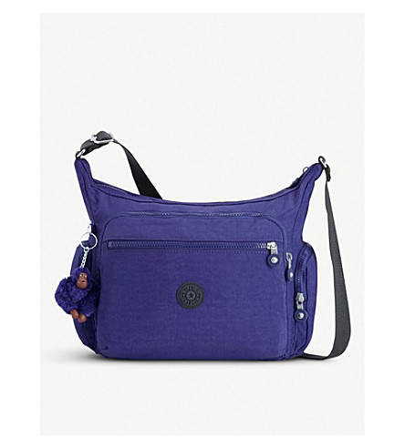 Gabbie de púrpura Verano nylon KIPLING Bandolera x7qw64SZg
