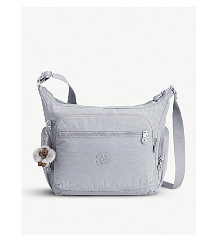 KIPLING Gabbie large nylon shoulder bag (Clouded+sky