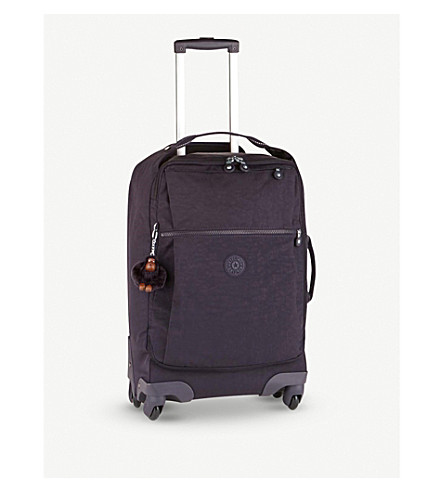 KIPLING Darcey four-wheel suitcase 55cm (Blue+purple+c