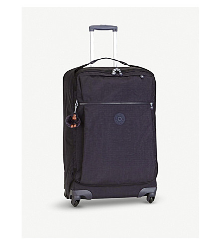 KIPLING Darcey four-wheel suitcase 66cm (Blue+purple+c