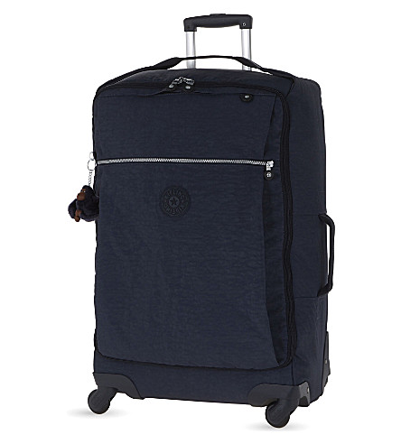 KIPLING Darcey four-wheel spinner suitcase 67cm (Alaskan+blue