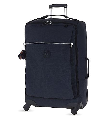 KIPLING Darcey four-wheel spinner suitcase 67cm (Alaskan+blue