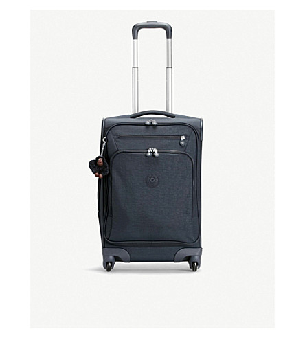 KIPLING Youri cabin four-wheel suitcase 55cm (True+navy